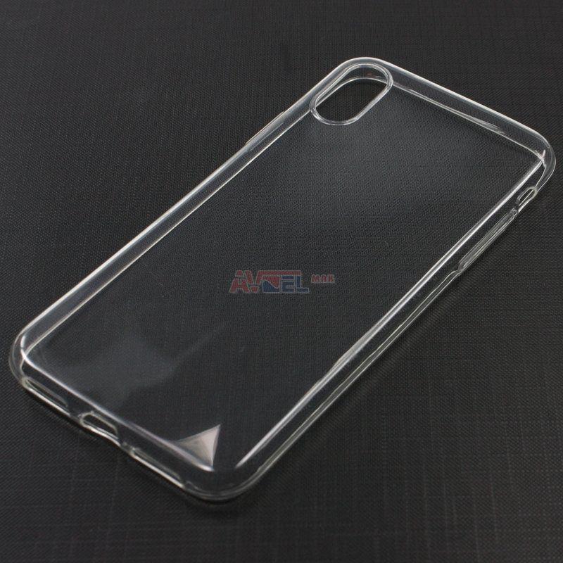 GSM Puzdro TPU iPhone X - priesvitné - Ultra Slim ... 4c6372fe150